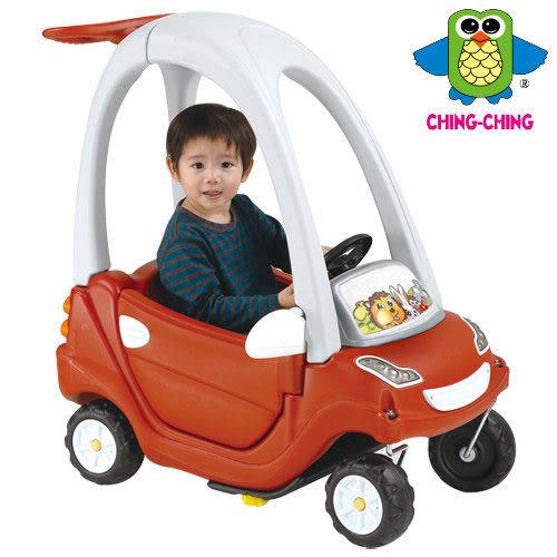 親親 嘟嘟車(次級料/紅) CA-11R【德芳保健藥妝】兒童學步車.滑步車.玩具車.碰碰車.助步車