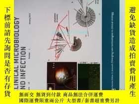 二手書博民逛書店CLINICAL罕見MICROBIOLOGY AND INFECTION CMI 01 2013微生物學感染Y