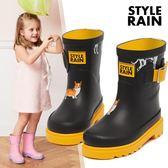 黑五購物節 春夏新品寶寶套鞋中筒膠靴男女童雨靴四季防滑水鞋橡膠兒童雨鞋