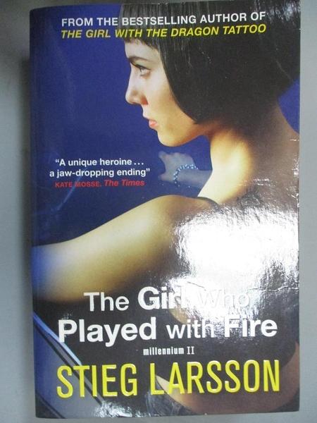 【書寶二手書T2/原文小說_CTK】Girl Who Played With Fire_Stieg Larsson