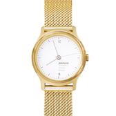 設計系列腕錶- 金米蘭帶/26mm  Mondaine 瑞士國鐵錶