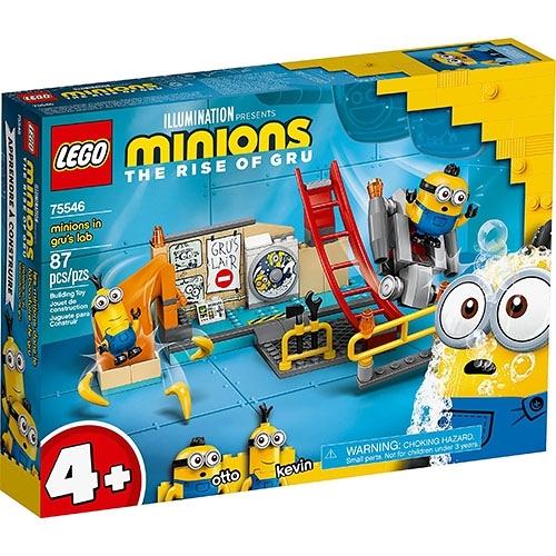 樂高積木 LEGO《 LT75546》小小兵系列 - Minions in Gru's Lab / JOYBUS玩具百貨