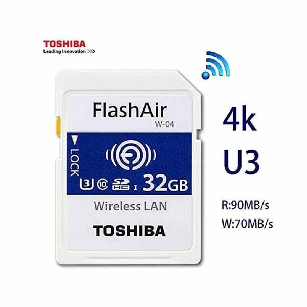Toshiba  32GB記憶卡 Flash Air W-04 Memory Card 無線傳輸 [2美國直購]