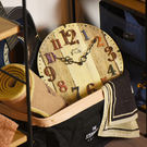 Amberg- 古典仿舊 靜音 時鐘 掛鐘