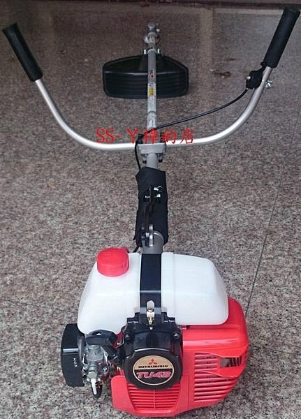 日本三菱品牌 TU43 割草機 請認明油桶在上 (故障率較低) KAAZ日本製彎頭-大全配