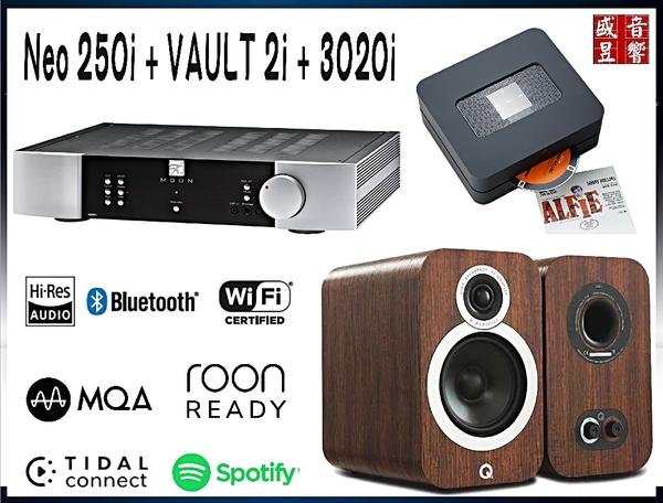 門市現貨 ~ 加拿大製 Moon NEO 250i + Bluesound VAULT 2i + Q Acoustics 3020i ~ 公司貨