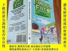 二手書博民逛書店Five罕見on a Treasure Island (Knig