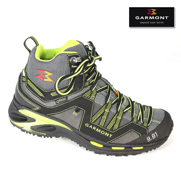 GARMONT GORE-TEX®中筒越野慢跑鞋9.81 TRAIL PRO MID 481133/214 中性款 /城市綠洲(登山鞋 爬山 Goretex 越野)