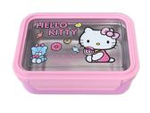 Hello Kitty 凱蒂貓不銹鋼單層分格保溫便當盒