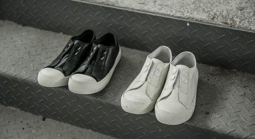 FINDSENSE MD 日系 高品質 時尚 潮 男 牛皮 低幫 低跟休閒鞋 板