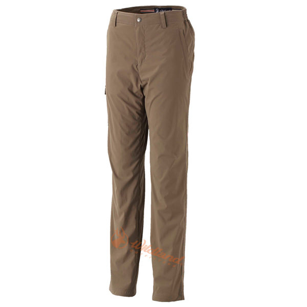Wildland 荒野 0A32311-63深卡其 女 SOFTSHELL貼袋合身褲