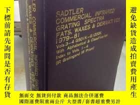 二手書博民逛書店SADTLER罕見COMMERCIAL INFRARED GRA