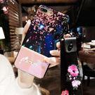 食尚玩家 K0014手機殼新款iphone8plus藍光掛繩6sX全包7p軟硅膠