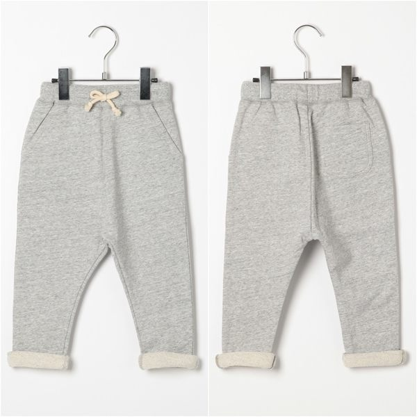 GLOBAL WORK童E-PAN素色迷彩鬆緊棉質哈倫褲長褲-三色