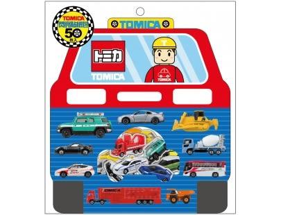 TOMICA 閃亮貼紙【含淚出清再折$10】/ 多美小汽車 貼紙 兒童 生日禮物 親子互動 玩具