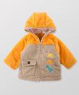 【限時5折】Hallmark Babies 恐龍與我長袖連帽拉鍊開衫毛毛布外套 HC3-B04-06-BB-NI