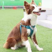 寵物胸背帶金毛狗狗牽引繩大型犬遛狗繩小型犬狗鏈子用品L-大型(胸圍52-92cm建議30-70斤)