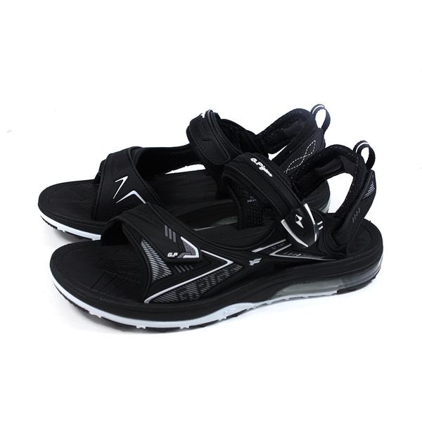 G.P (GOLD PIGEON) 阿亮代言 運動型涼鞋 黑色 男鞋 G1676M-10 no434