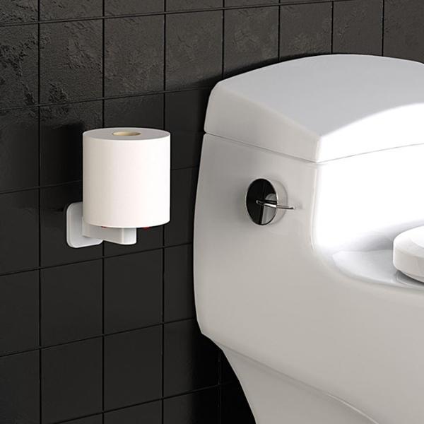 無痕立式紙巾架 直立式廚房紙巾架 捲筒衛生紙架 紙抹布收納架 立式捲筒紙巾架