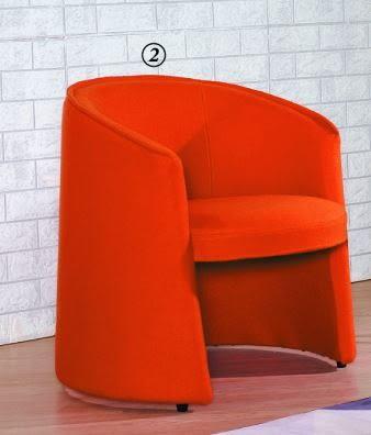 【南洋風休閒傢俱】沙發系列-艾登布藝休閒椅  單人沙發 套房沙發 餐椅 JX156-1 156-2