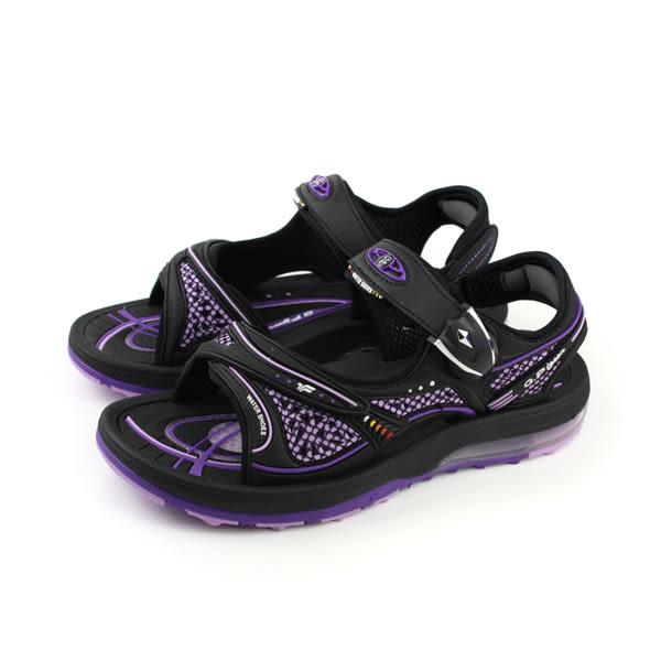 GP (Gold.Pigon) 阿亮代言 涼鞋 防水 雨天 女鞋 紫色 G7678W-41 no808