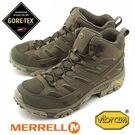 [好也戶外] Merrell MOAB 2 MID GORE-TEX 戶外多功能鞋 軍綠 NO.99773W(楦頭加寬版)