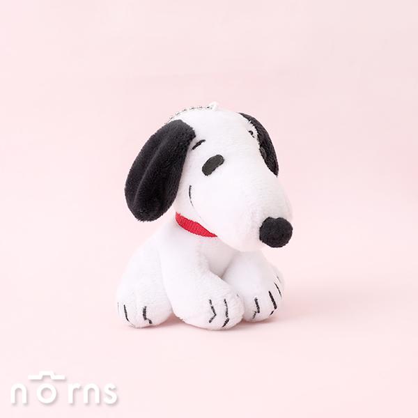 Peanuts系列小吊飾 4吋立坐Snoopy- Norns 正版授權 史努比絨毛鑰匙圈