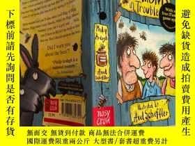 二手書博民逛書店the罕見grunts in trouble 有麻煩的咕嚕咕嚕聲Y200392