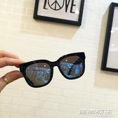 兒童墨鏡男童太陽鏡寶寶防紫外線眼鏡女韓國個性小孩太陽眼鏡復古     時尚教主