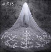 新娘頭紗頭飾超仙長頭紗
