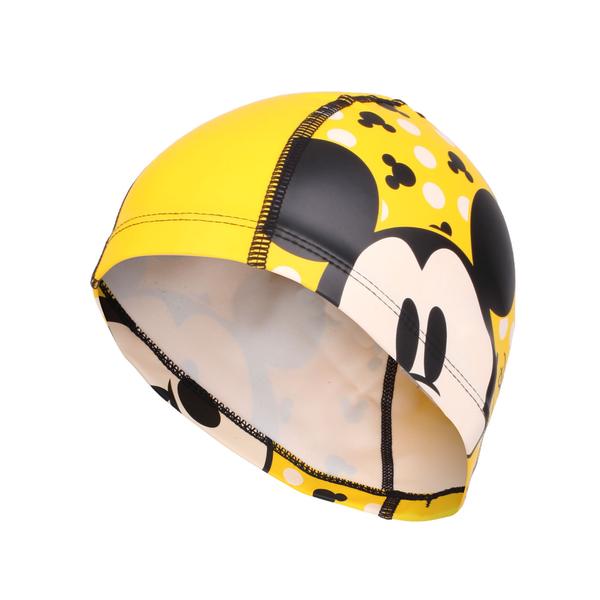 SPEEDO 兒童合成泳帽Pace-米奇(游泳 戲水 海邊 沙灘 免運 ≡排汗專家≡