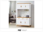 【MK億騰傢俱】ES701-06寶格麗4尺餐櫃(全組)