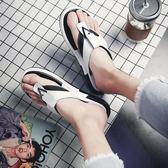 夾腳拖鞋男人字拖沙灘鞋滑涼鞋【南風小舖】