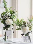 ins北歐小清新絹花假花仿真花客廳花瓶裝飾品擺件餐桌花藝擺件QM   JSY時尚屋
