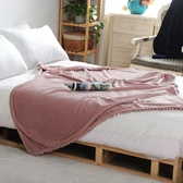 流蘇毯子北歐空調毯辦公室披肩午睡休閒小蓋毯單人沙發毛毯ins風