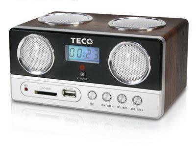 TECO 東元USB/SD/MP3/FM隨身音響 XYFSP002 **可刷卡!免運費**