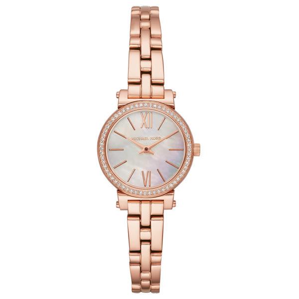 Michael Kors 光燦耀眼晶鑽都會腕錶-MK3834