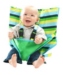 美國 My Little Seat可攜式寶寶安全椅套 海濱假期