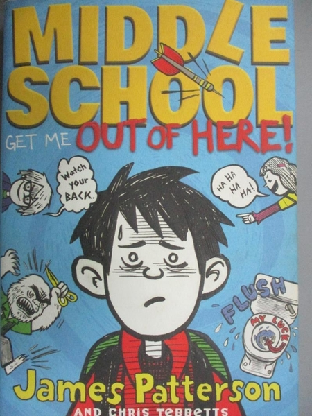 【書寶二手書T9/原文小說_IDJ】Middle School: Get Me Out of Here!_Patters