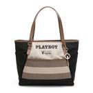 PLAYBOY- 托特包 新時代系列 -黑色