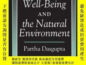 二手書博民逛書店Human罕見Well-being And The Natural Environment-人類福祉與自然環境