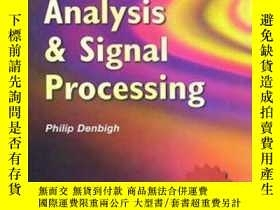 二手書博民逛書店System罕見Analysis And Signal Processing: With Emphasis On