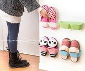 【壁面鞋架】節省空間收納牆壁黏貼式壁掛鞋掛