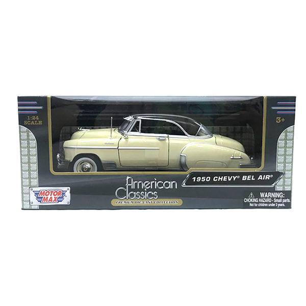 【Motormax】1比24經典合金車-1950雪佛蘭Chevy Bel Air MMV73268