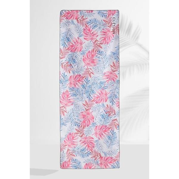 【南紡購物中心】【Clesign】OSE ECO YOGA TOWEL 瑜珈舖巾 - D11 Florid Colorful
