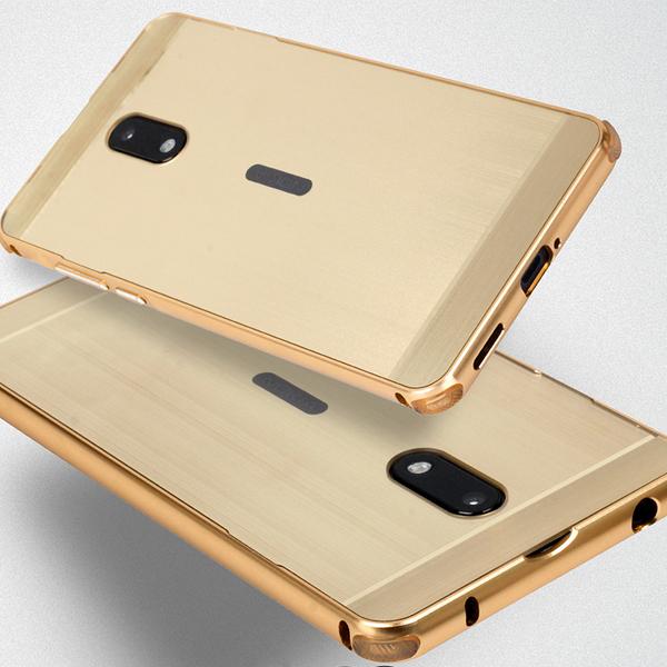 【賠本出清】Nokia 6 TA-1003 5.5吋 鋁邊框+背蓋 拉絲防摔殼/手機保護套/保護殼/硬殼/手機殼/髮絲紋