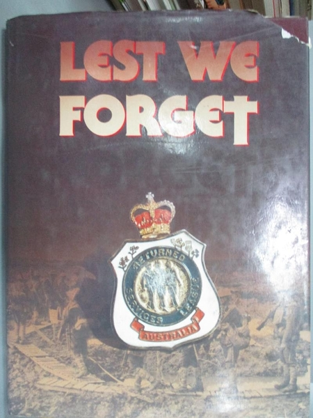【書寶二手書T8/歷史_YEB】Lest We Forget