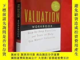 二手書博民逛書店Valuation罕見Workbook:Step-by-Step