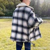 冬季加絨羊羔毛棉服外套男韓版潮流寬鬆加厚棉襖潮牌短款休閒棉衣 【傑克型男館】