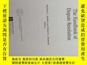 二手書博民逛書店The罕見Handbook of Dispute Resolut